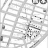 熊本のソープ街の地図