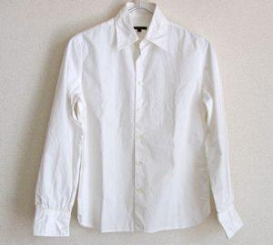 白シャツの着回し