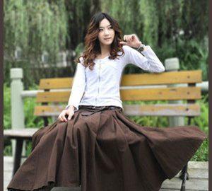 女子が着たいロングスカート